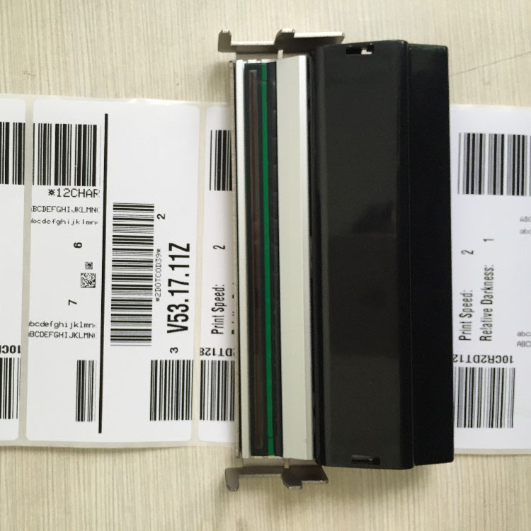 2PCS/1LOT Compatible S4M Thermal Print head For Zebra S4M 203dpi Barcode Printer Printhead PN G41400M (90 days warranty ) printhead roller belt for zebra zm400 203dpi new and compatible 79800m thermal barcode label printer parts
