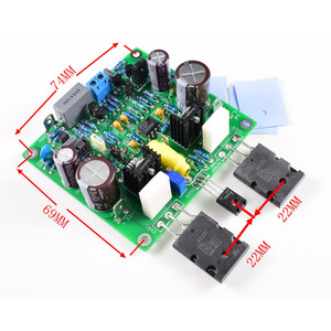 Image 3 - Lusya 2pcs Accuphase E210 Modified Power Amplifier Board 150W 8ohm finished board DC 25V 55V F8 005