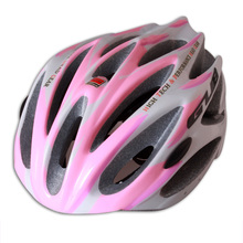 Catazer Free shiping + Gril Womens Bicycle Helmet Cycling Bike Adult Road Helmet Pink