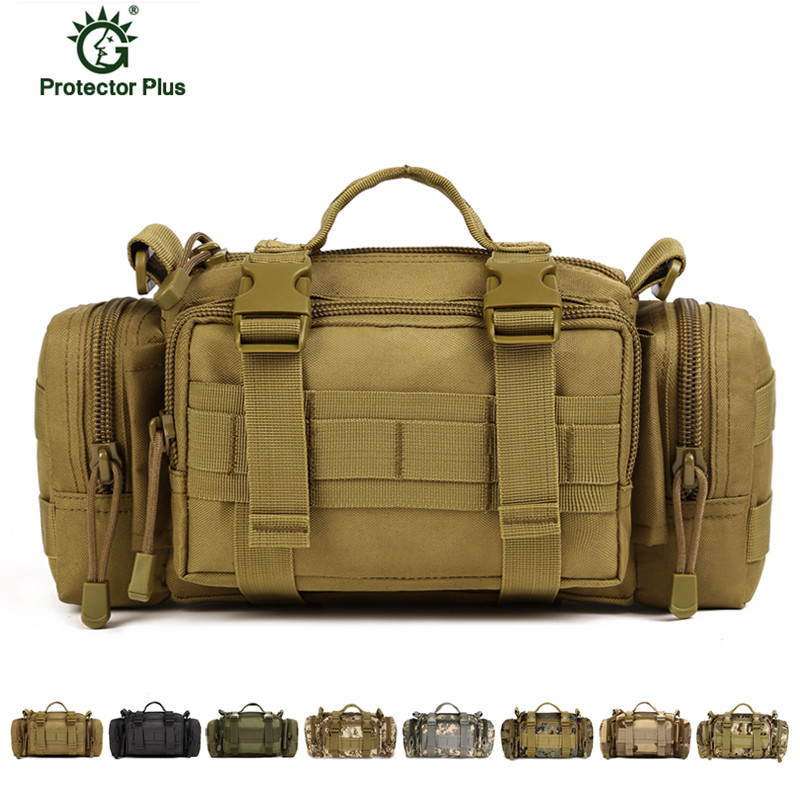 где купить Men Messenger Bags Molle Military Waist Bag Army Fanny Pack Casual Belt Bag Fanny Travel Waist Pack X52 дешево