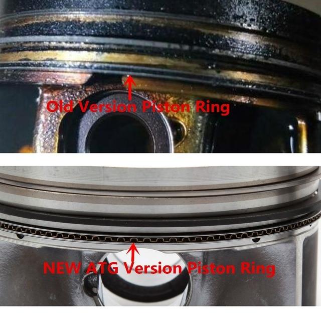 NEW 06H 107 065 AM Engine Piston & Ring Auto Assembly Kit Pin 21mm For VW Passat Tiguan Golf Audi A3 A5 Q5 TT 2.0TFSI 06J198151B 2