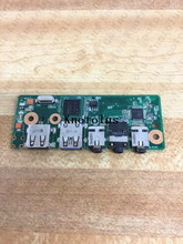 60-NXGAU1100-A04 Rev.2.0 FOR ASUS N71J N71JV N71JA N71JQ USB Port Audio Board цена
