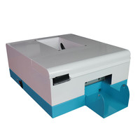 TOPPARTS 2018 Inkjet Card Printer With 1 Set Pigment Ink PVC Cards Xcellent Card Printer System 2.0.0C