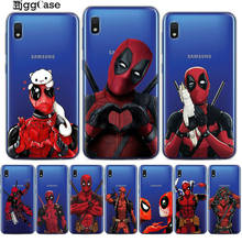 Super Legal Deadpool Marvel Super Herói Caixa Do Telefone Para Samsung Galaxy A10 A20 A30 A40 A50 A70 A7 A6 A8 s9 S10 Mais Macio TPU Capa(China)
