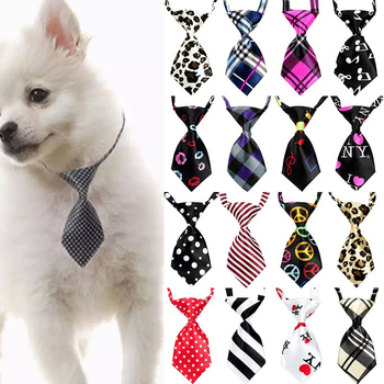 Mix Colors Pet Cat Dog Tie Puppy Grooming Products Dog Accessories