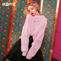 ELF SACK New Elegant Lady Sweater Casual Solid Woman Sweater Full O Neck Vintage Sweaters Women Pullovers Streetwear Sweater