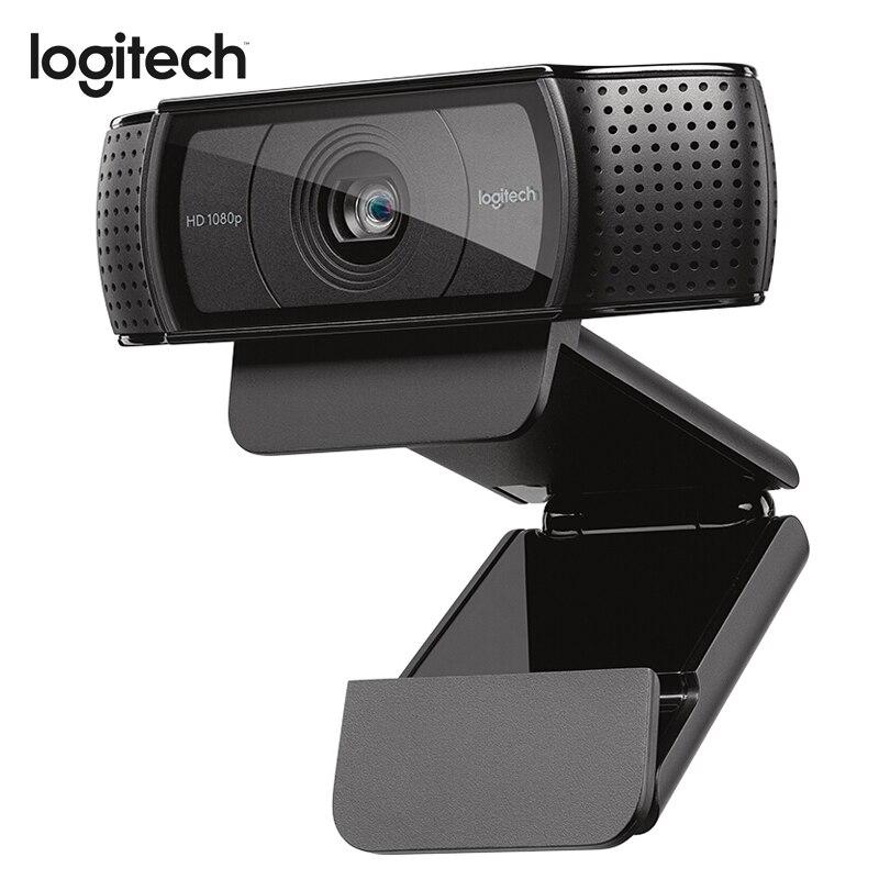 Logitech C920E Webcam HD 1080P caméra Autofocus Full HD 1080P appels vidéo avec Audio stéréo pour caméra USB PC