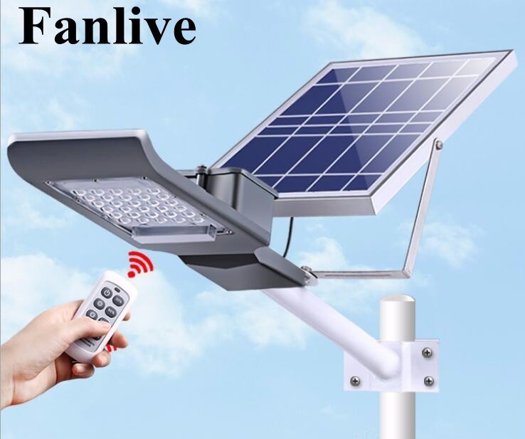 5pcs/lot 20W LED Solar Street Light Outdoor Waterproof IP65 Road Lighting Control Solar Power Led Light Garden Yard Street Lamp dc12v 24v 36w led street light outdoor waterproof ip65 road light 36w led street lamp for dc power supply system