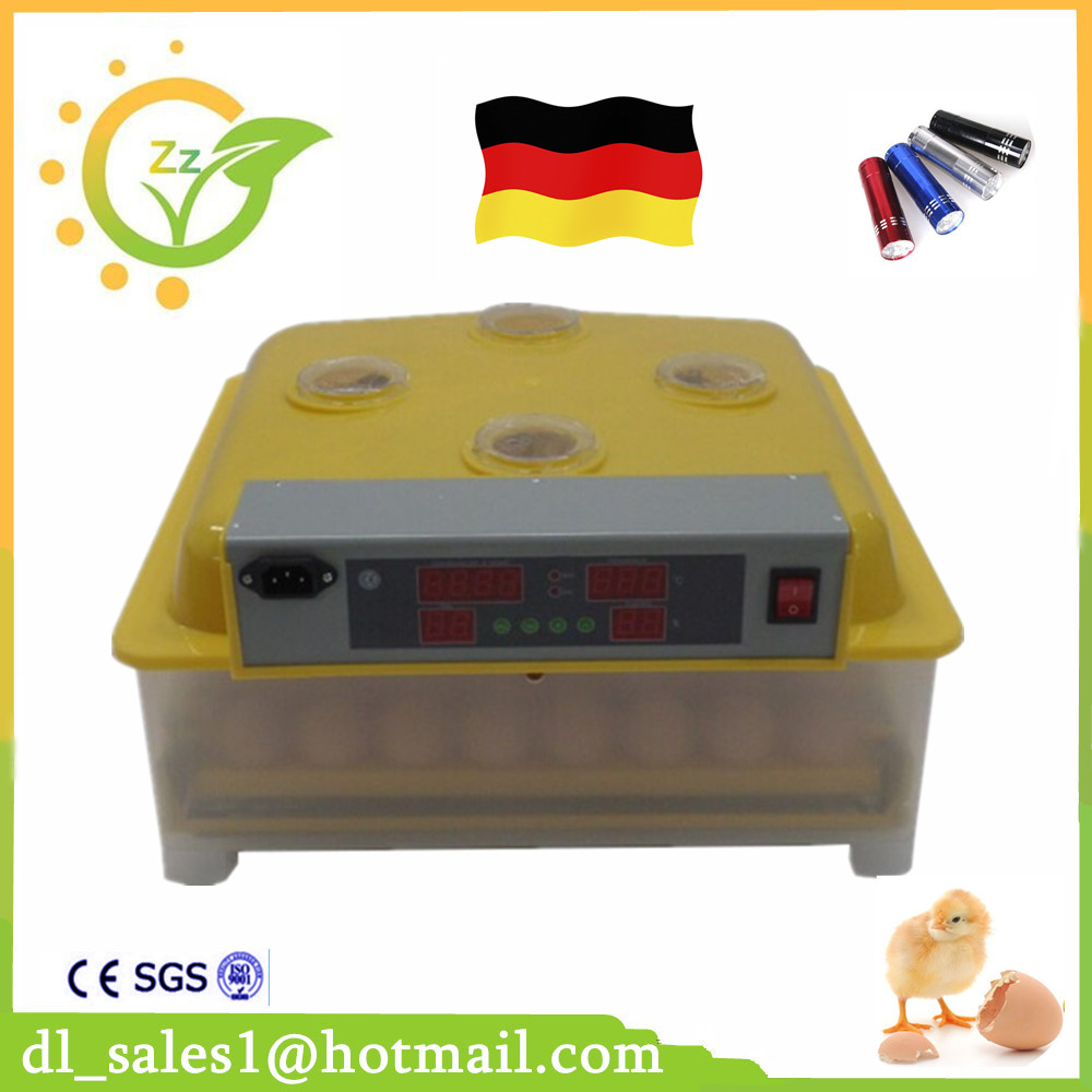 Mini Temperature Humidity Display Poultry Egg Incubator 48 Chicken Egg Hatching Machine digital tdk0302la humidity temperature controller 220v led display home egg incubator farming thermometer cn902 thermostat