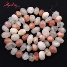 5x7-7x11mm Irregular Shape Multicolor Moonstone Natural Stone Beads For DIY Necklace Bracelet Jewelry Making 15
