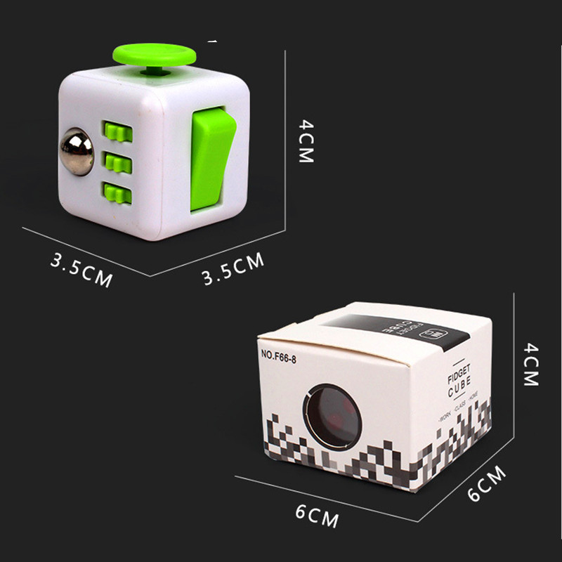 Squeeze Fun Fidget Cube Toy Dice Anxiety Attention Anti stress Puzzle Magic Relief Adults Funny Fidget Toys