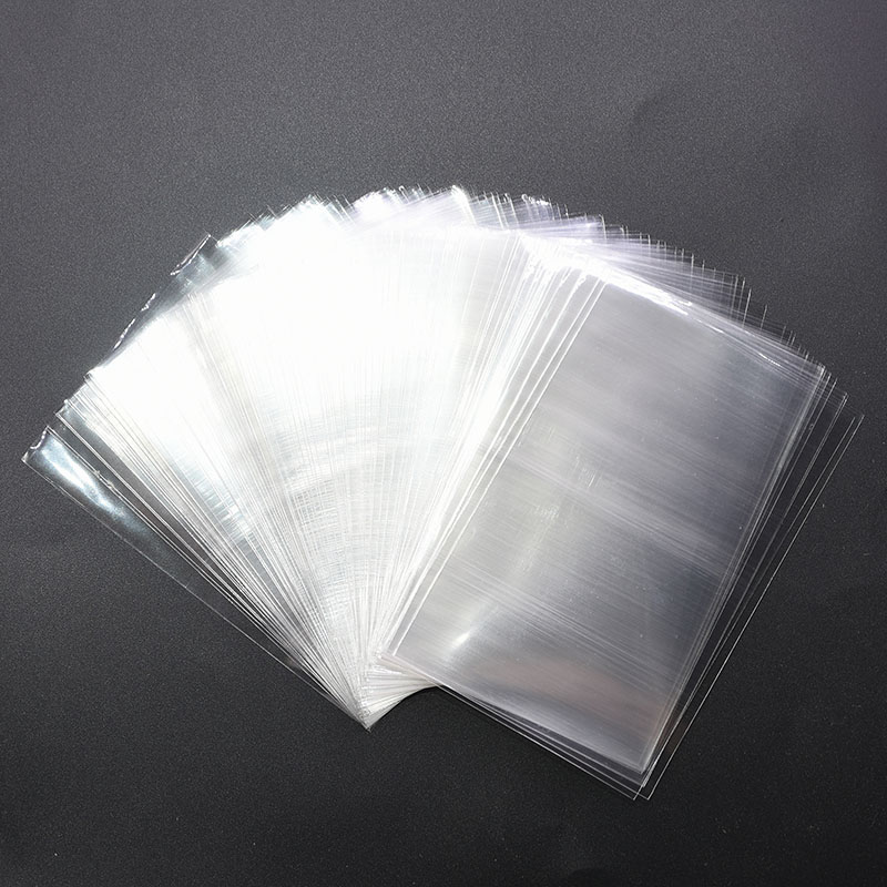 100pcs 4 Sizes Avail Transparent Opp Plastic Bags for Candy Lollipop Cookie Packaging Cellophane Bag Wedding Party Gifts Favors(China)