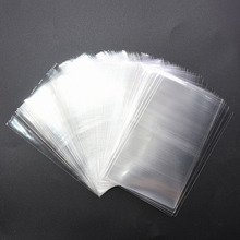 100pcs 4 Sizes Avail Transparent Opp Plastic Bags for Candy Lollipop Cookie Packaging Cellophane Bag Wedding Party Gifts Favors