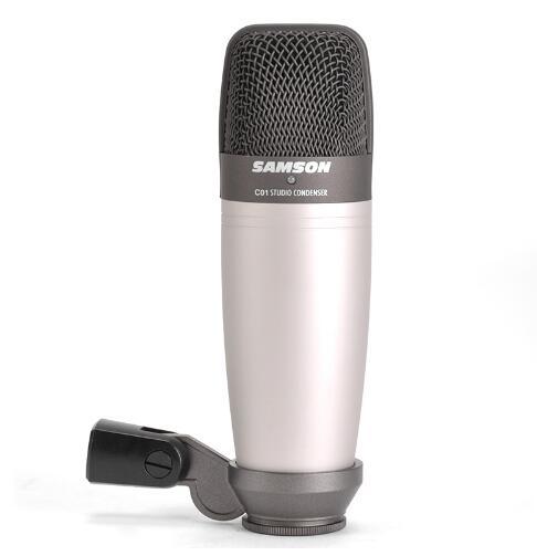 Оригинальный конденсаторный микрофон SAMSON C01 для записи вокала, акустических инструментов и барабана без чехол посылка