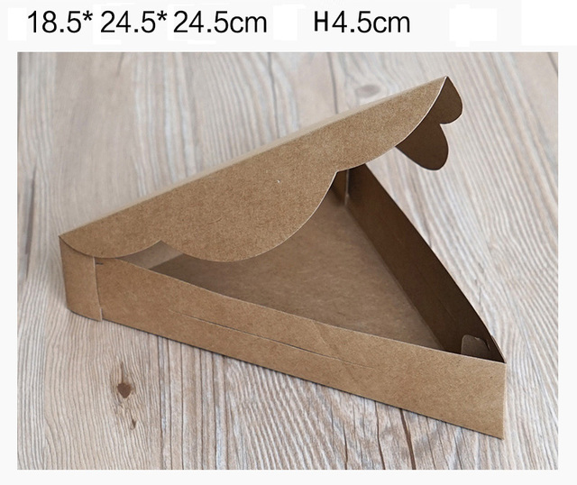 dreieck pizza box verpackung boxen pizza box piece los. Black Bedroom Furniture Sets. Home Design Ideas