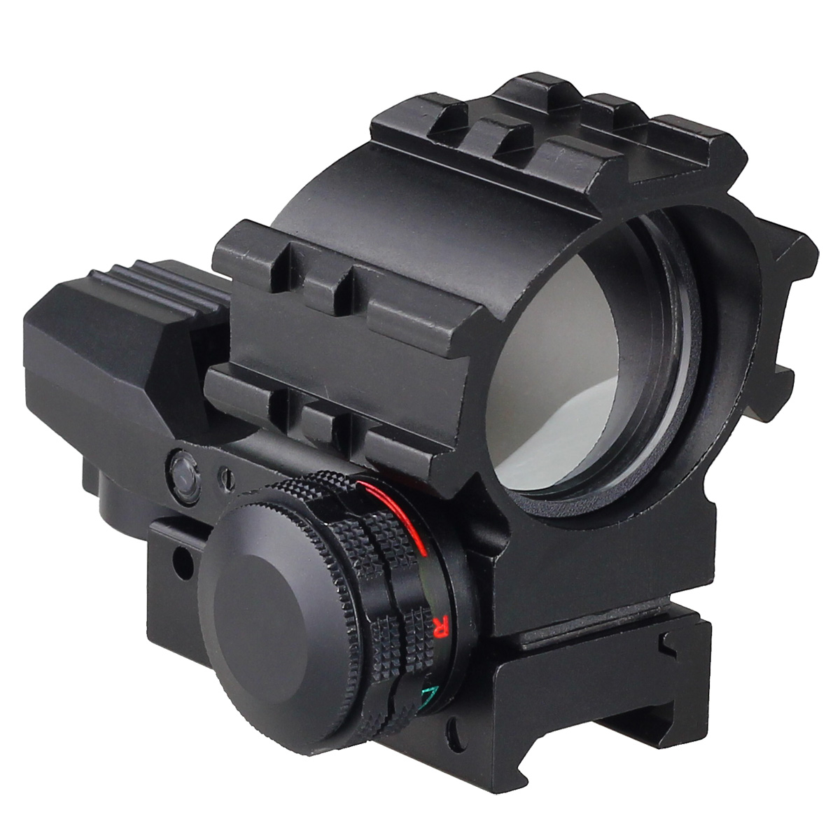 Tactical Holographic 4 Reticles Projected Red Laser Green Dot Reflex Sight Scope 20mm Picatinny Mount for Hunting Airsoft Guns цена