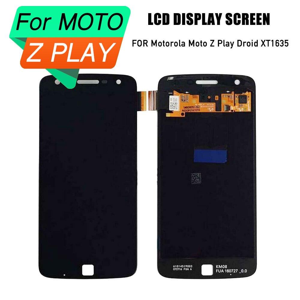 PrepairP lcd screen for Motorola Moto Z lcd digitizer touch screen assembly for Motorola Moto Z Play Droid XT1635 replacementPrepairP lcd screen for Motorola Moto Z lcd digitizer touch screen assembly for Motorola Moto Z Play Droid XT1635 replacement
