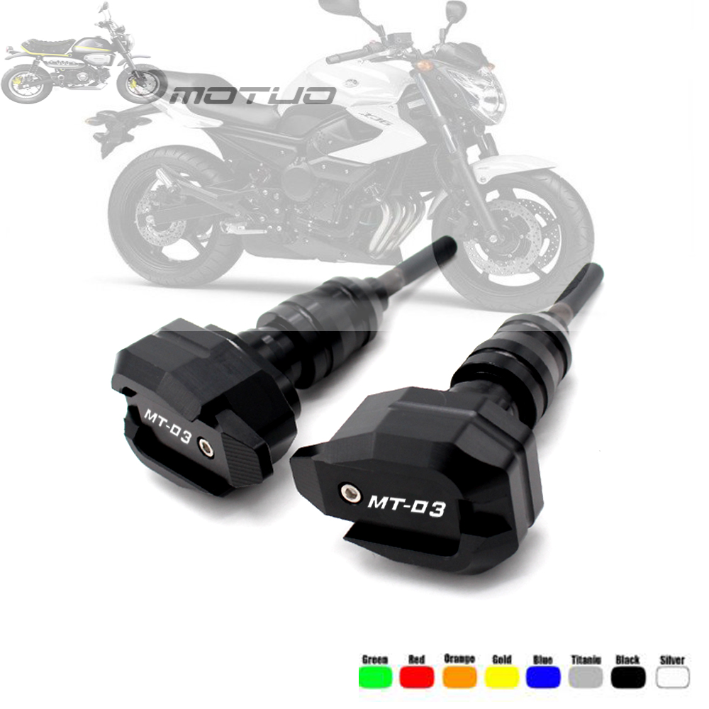 For <font><b>YAMAHA</b></font> MT-03 MT-25 YZF-R3 YZF-<font><b>R25</b></font> R3 2015- <font><b>2019</b></font> Falling Protection Frame Slider Fairing Guard Anti Crash Pad Protector image