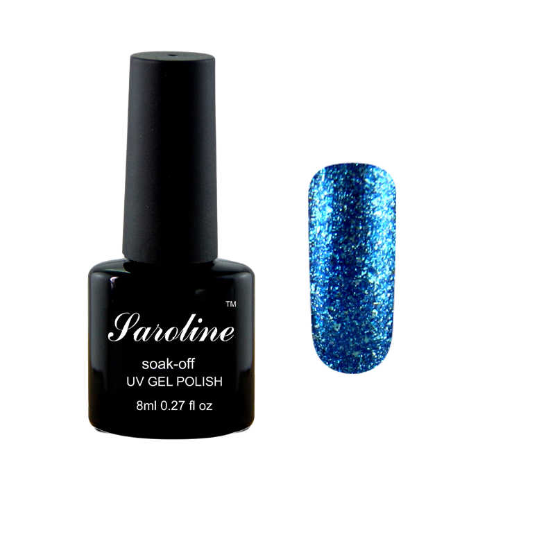 Vernis à ongles brillant UV brillant platine brillant pour vernis à ongles Semi-permanent vernis à ongles LED couleur or