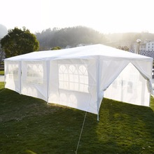 10'x30'Canopy Party Outdoor Wedding Tent Heavy duty Gazebo Pavilion Cater Events Free Shipping P2013WH