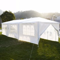 10'x30'Canopy Party Outdoor Wedding Tent Heavy duty Gazebo Pavilion Cater Events AP2013WH