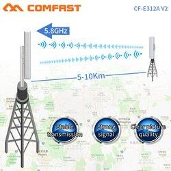 Puente de CF-E312V2Wireless COMFAST, enrutador de 300Mbps para exteriores, amplificador de señal WIFI de 5 Ghz, antena de largo alcance, punto de acceso wi-fi