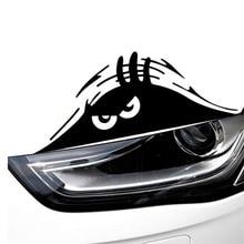 Motorcycle sticker Fashion Funny Peeking Monster Car Sticker vinyl decal decorate sticker car styling