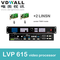 Vdwall Lvp615 Video Processor And 2 Pc Linsn Ts802 Scaler PRICE Led Video Wall Controller Transmitting