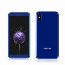 "DOOGEE X55 Smartphone 5.5 ""18:9 plein écran 1 GB 16 GB MT6580 Quad Core Double Caméras 8MP + 8MP D'empreintes Digitales Android 7.1 Téléphones Mobiles"