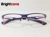 Danyang Spectacle Frame Exceed Light Tr 90 Motion Glasses Frame Male Half Frame Myopia Frame 6037