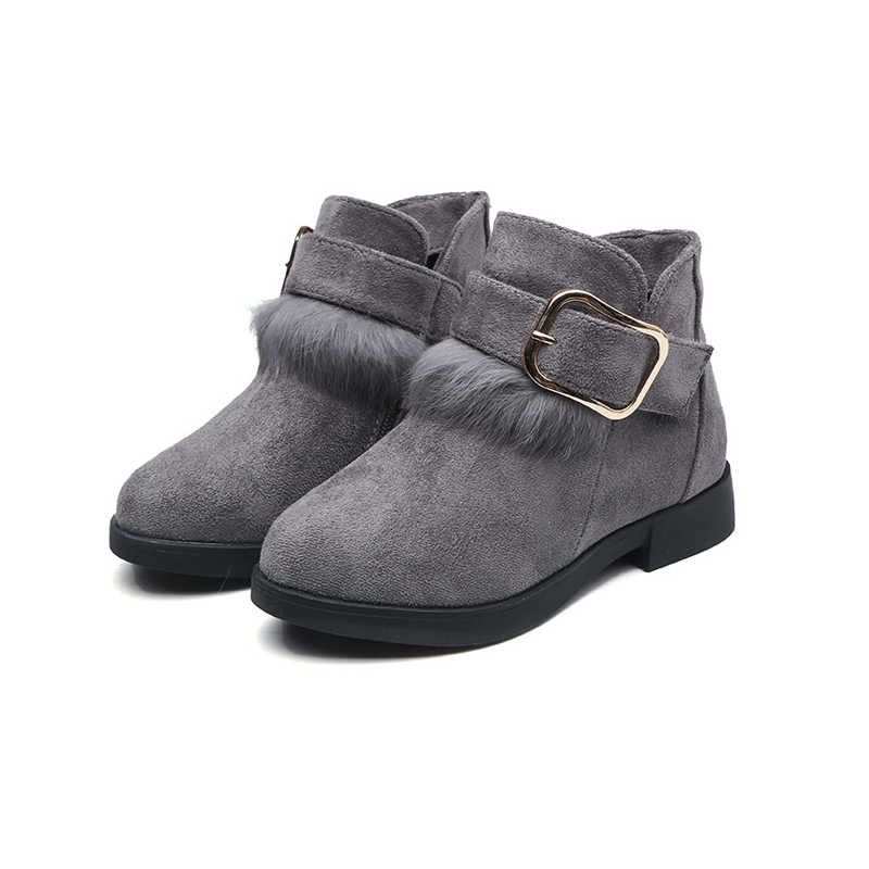 JGVIKOTO Autumn Winter Girls Boots With
