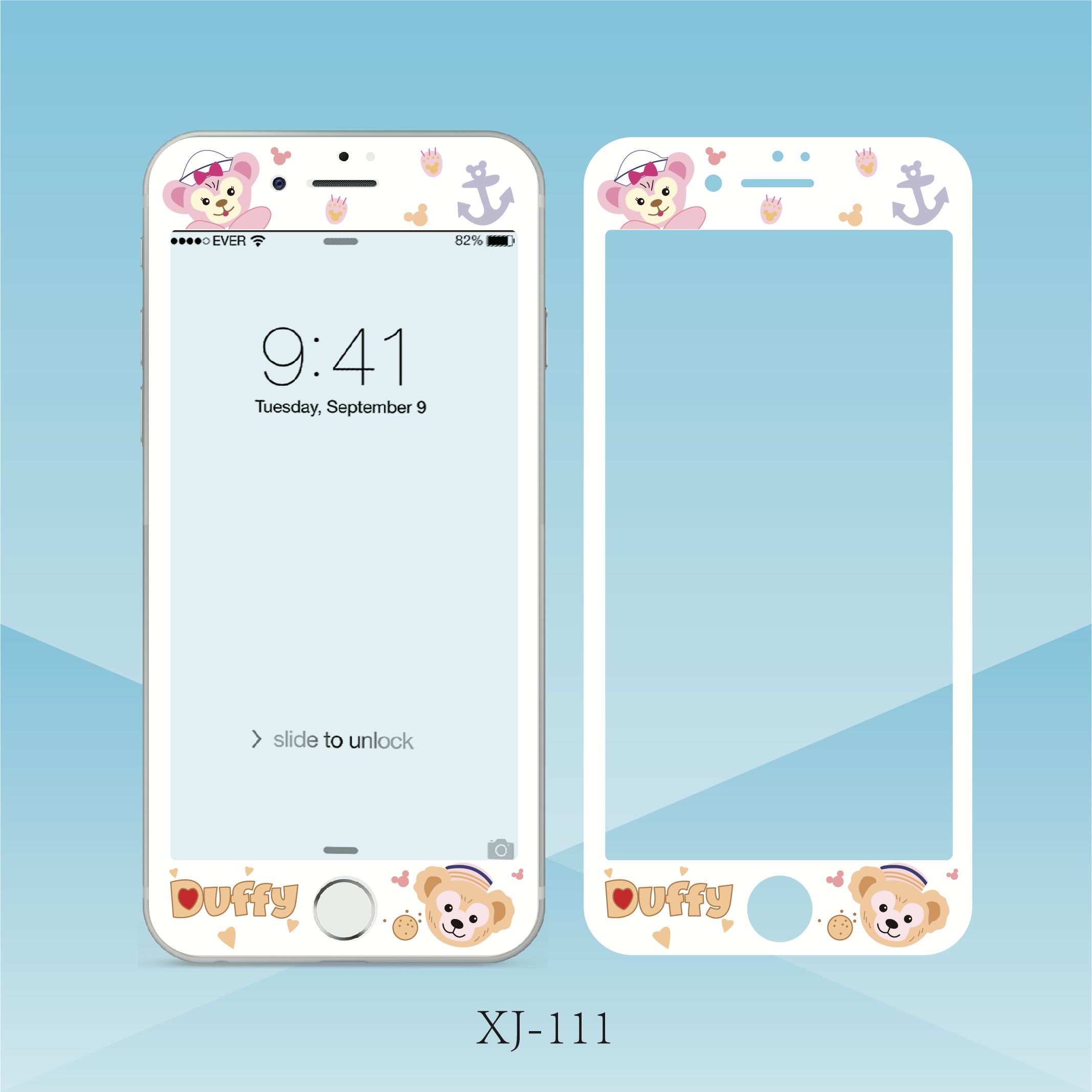 US $3 14 26% OFF Duffy Bear Cinnamoroll Stitch Totoro Pattern Screen  Protector Tempered Glass For iPhone 6 6s Plus 7 8 plus Protective Film-in  Phone