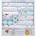 19 piece Newborn Gift Sets  Baby Girl Clothes Cotton Baby Boy Clothes lnfant Underwear Hot Sale