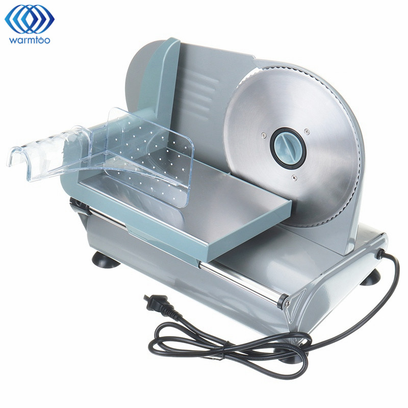 Electric Meat Slicers Frozen Beef Mutton Roll Stainless Steel Mincer Vegetable Cutting Machine Adjust Thickness Kitchen 220V мясорубка 22 22 22 stainless steel meat mincer cutting blades