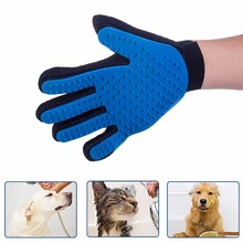 Silicone Dog Pet brush Glove Deshedding Gentle Efficient Pet Grooming Glove Dog Bath Cat cleaning Supplies Pet Glove Dog combs cat grooming glove mascot pet hair glove removal brush mitts deshedding brush combs cat dog combs supplies bath cleaning massage