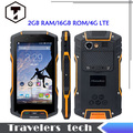 Original Huadoo HG04 IP67 Rugged Waterproof Shockproof Smartphone MSM8926 Quad Core 2GB+16GB 4G FDD LTE Phone Android 4.4 HG06