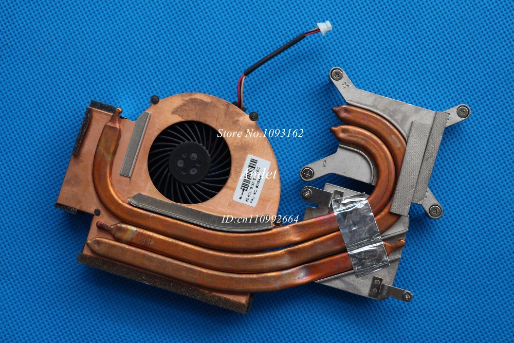 New Original for Lenovo ThinkPad W510 Heatsink CPU Cooler Cooling Fan Cooler Discrete Video 60Y5493 60Y5494 original for asus laptop heatsink cooling fan cpu cooler k52 k52j a52j a52j x52j cpu heatsink