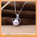 Sinya 925 sterling pingente de prata gargantilha de pérolas de água doce colar de jóias para as mulheres 2016 venda quente