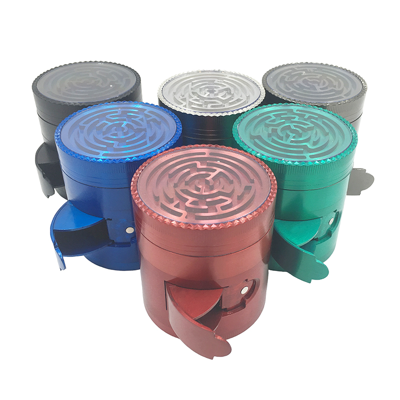 Collectibles 63mm Rainbow Large Herb Grinder 3 Layer Tobaccogrinder Cheap Cali Crushergrinder Soft And Light Cigars
