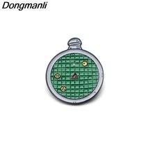 цена P3149 Dongmanli DRAGON BALL Detector Metal Enamel Pins and Brooches for Women Men Lapel Pin backpack bags Hat badge Kids Gifts онлайн в 2017 году