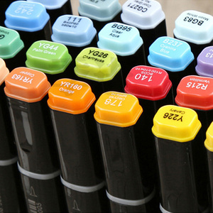 Image 5 - 480 Color Finecolour Dual Head Art Markers Pen Oily Alcoholic Sketch Marker Soft Brush Pen Art Supplies Markers Pen for Drawing