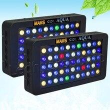 2 шт. Mars aqua 165 Вт dimmable света аквариума для коралловых рифов, полный спектр аквариум светодиодный Освещение