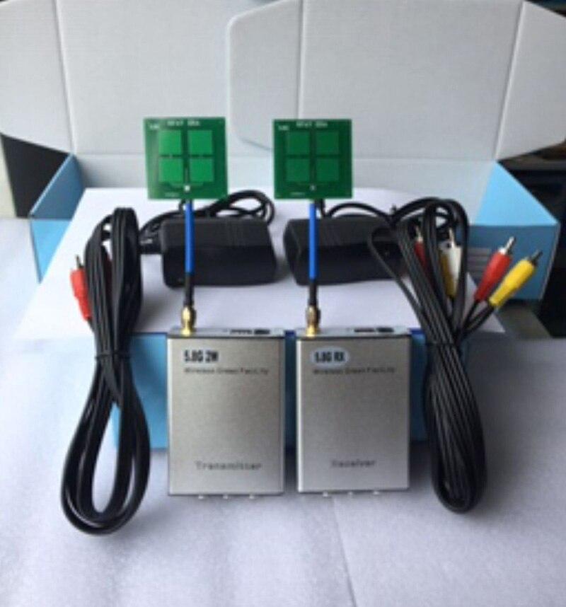 5.8G 2 W/1 W 16CH RC émetteur FPV RC contrôleur récepteur Module de lancement w/FPV antenne 7DB pour RC Drones partie à AHD caméra HD