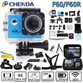 Action Camera 4K/30FPS HuaGuo F60/F60R Allwinner V3 Wifi Ultra HD 16MP 30M Waterproof Mini Helmet Cam bike record Sport Camera