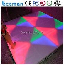 Leeman P10 тонкий портативный светодиодный танцпол освещения/бесшовное соединение чувствительные светодиодные видео, танцпол для клуб/бар