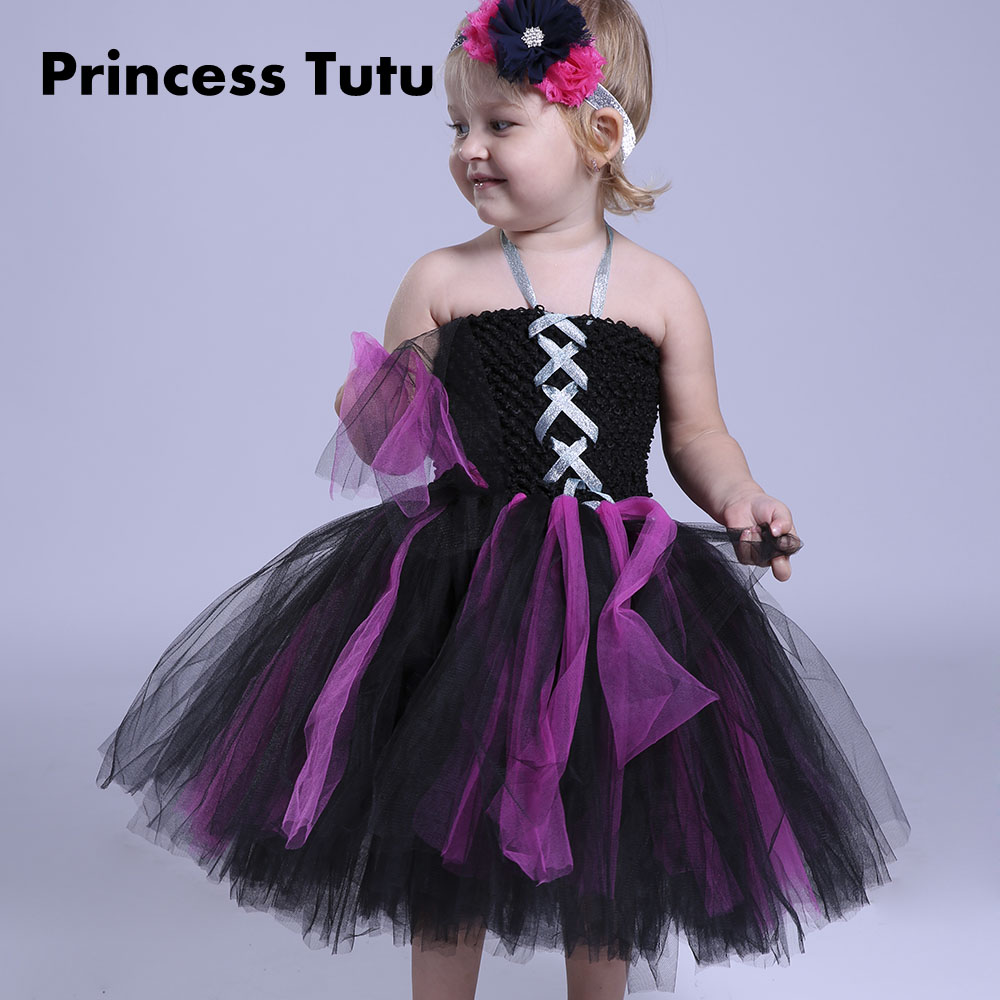 Halloween Knee Length Black Cosplay Costume Cartoon Baby