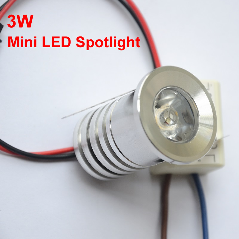 10pcs mini led spot light 3w led downlight 3000k 4000k. Black Bedroom Furniture Sets. Home Design Ideas