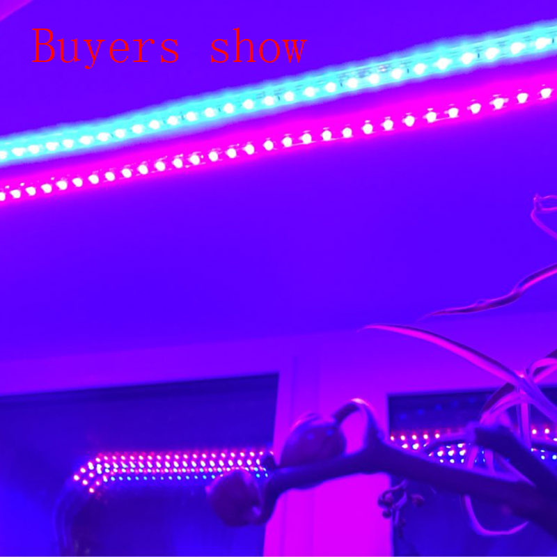(1m crvena i 1m plava) LED svjetla za uzgoj traka 28,8 W / Lot 220V - Profesionalna rasvjeta - Foto 4