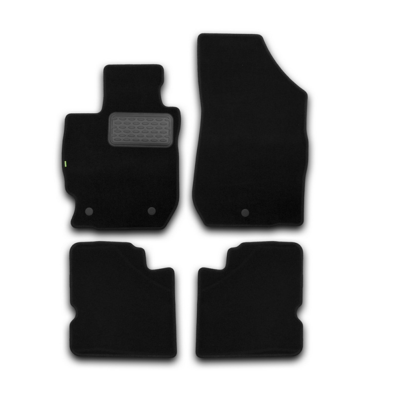 Mats in salon Klever Standard For NISSAN Almera AUTOMATIC TRANSMISSION 2012->, сед... 4 PCs (textile) mats in salon klever premium for cadillac cts automatic transmission 4wd 2007 2014 сед 4 pcs textile