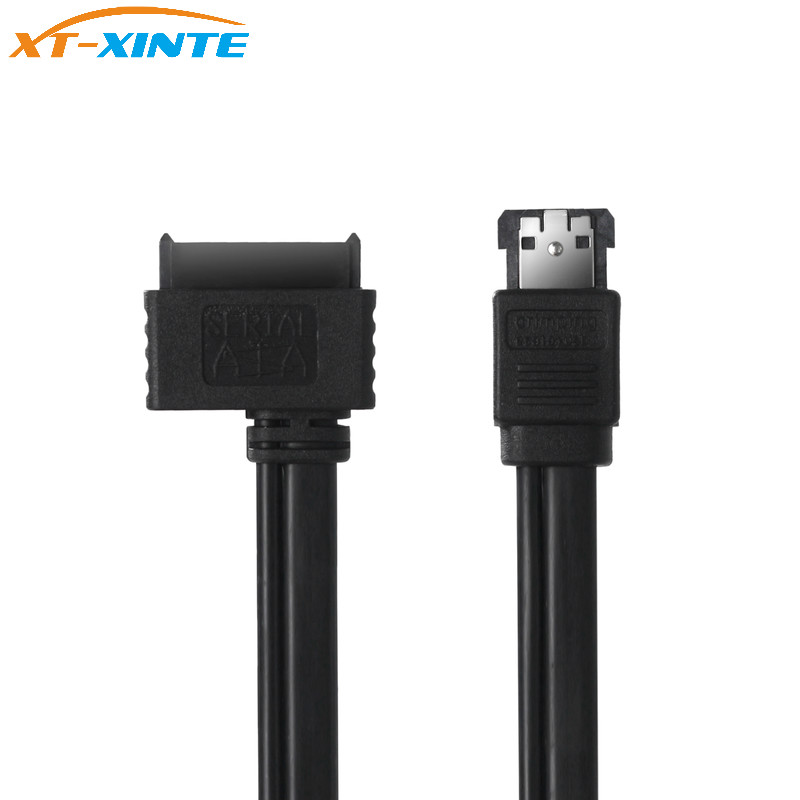 XT-XINTE Power Esata eSATAp zu Slim Sata <font><b>7</b></font> + <font><b>6</b></font> <font><b>13Pin</b></font> Stecker USB Power Data Kabel 50 cm für 5 V Optical Treiber CD DVD ROM ODD image